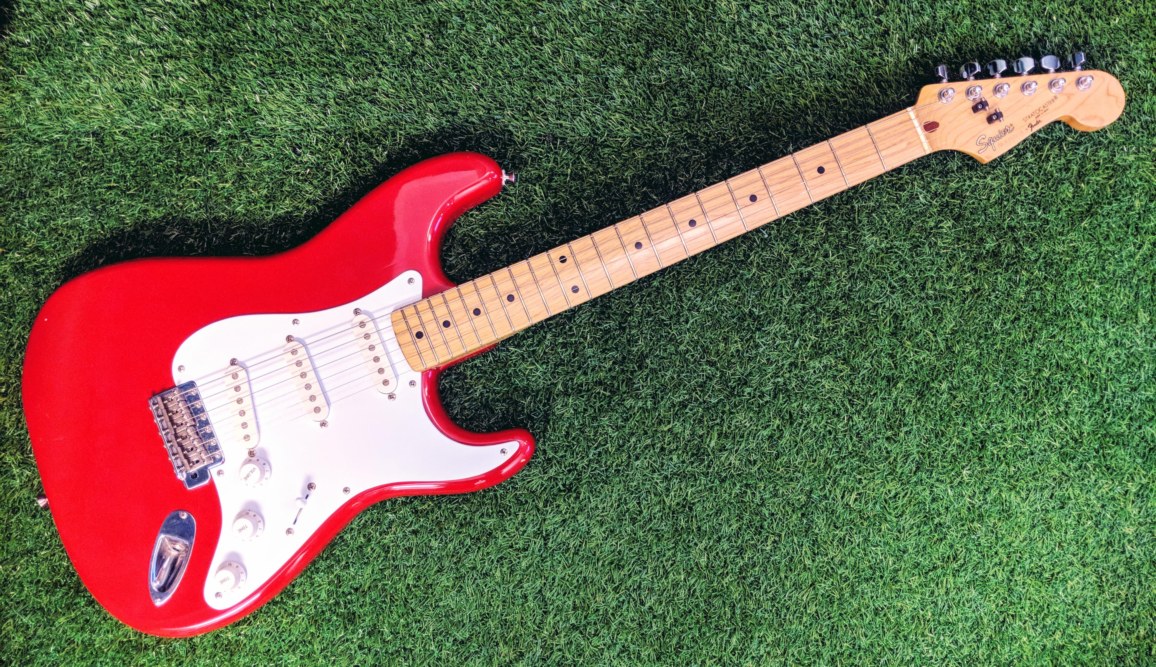 A 1987 Japanese-made Squier Stratocaster – Bryan Sim, Ph D